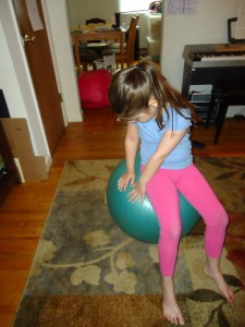 Gross Motor Ball Dance!