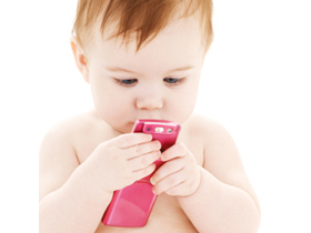 Toddlers Accessing Smart Devices