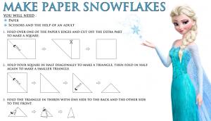 Make a Frozen Snowflake