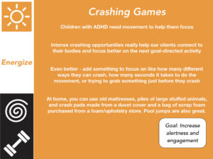 Children with ADHD Benefit from Intense Movement & Proprioceptive Input!